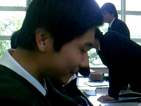 Shy Lihuan in my Chinese FLA class