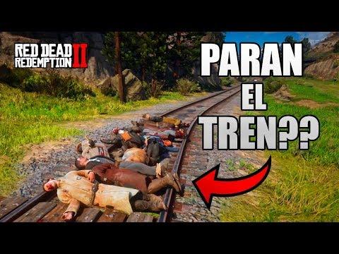 CAZANDO MITOS // MUCHOS CADÁVERES PARAN EL TREN ?? RED DEAD REDEMPTION 2