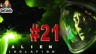 Alien Isolation - Gameplay ITA - Walkthrough #21 - Verso il reattore