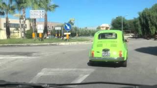 Due ragazzi salentini, una 500 verde, 3000 km da percorrere