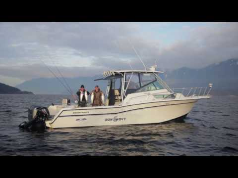 Winter Salmon Fishing In Vancouver - 2017