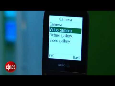 Doro 622 senior phone has sleeker look_ shoots video