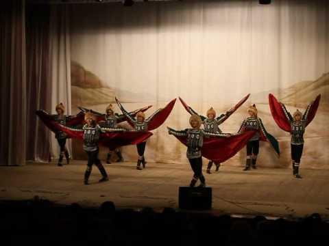 Башкирский танец на свадьбе