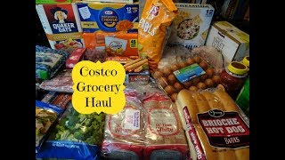 June Costco Grocery Haul & Meal Plan