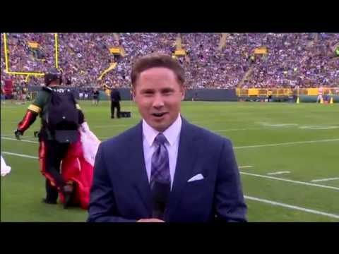 Josh Moser Live from Packers Family Night at Lambeau Field