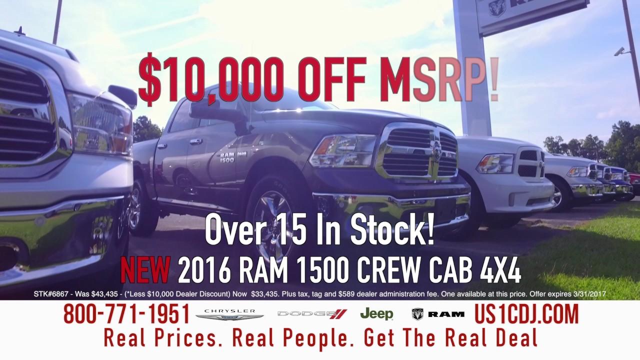 US1 Chrysler Jeep Dodge Ram - TRUCK MONTH! - YouTube