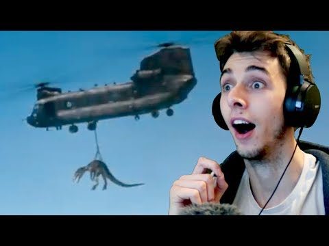 Download Youtube: JURASSIC WORLD 2 SECOND TRAILER REACTION! (2018)