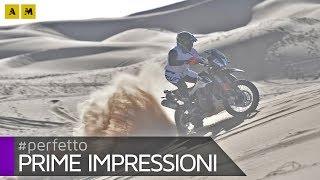 KTM 790 Adventure R TEST: offroad in Morocco coi campioni della Dakar! [ENGLISH SUB]