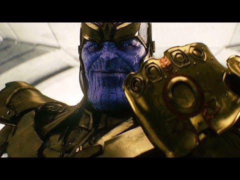 Thanos Retrieves The Infinity Gauntlet Scene - Avengers: Age of Ultron (2015) Movie Clip HD thumbnail