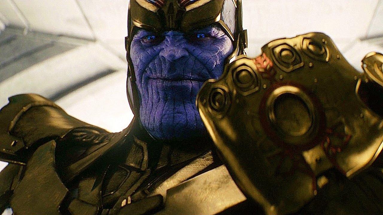 Thanos Retrieves The Infinity Gauntlet Scene - Avengers ...  Thanos