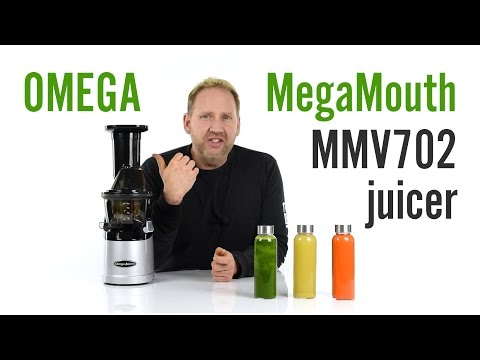 Omega MMV702 MegaMouth juicer - Product Overview