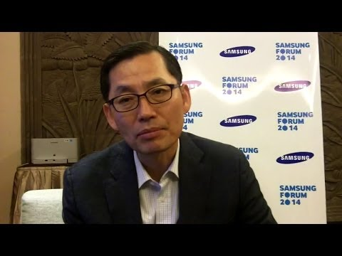 Samsung CEO on growth strategy