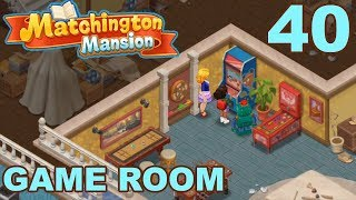 MATCHINGTON MANSION - STORY WALKTHROUGH - GAME ROOM - PART 40 GAMEPLAY
