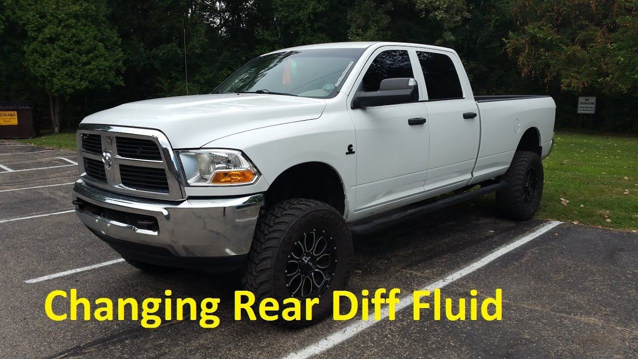 2011 Ram 2500 - Changing Rear Differential Fluid