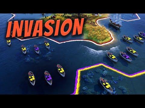 Invasion - Civilization 6 Gathering Storm Deity Part 20