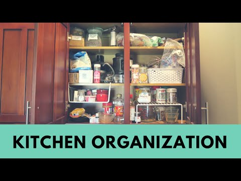 KITCHEN ORGANIZATION | Before & After!