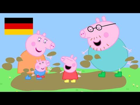 Peppa Pig Deutch | Zusammenstellung von Folgen | 45 Minuten - 4K!