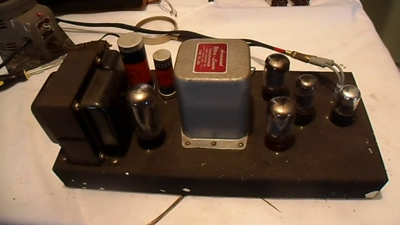 Home Brew 5881 Mono Tube Amplifier Acrosound To300 Transformer By Mosfet Dc Motor Drive Circuit Http Wwweleccircuitcom 8asolinoid Jimjam041