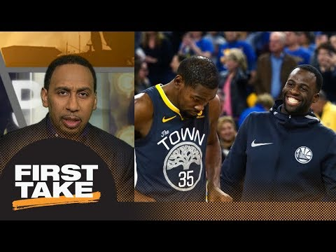 Stephen A. Smith on Warriors' coaching experiment: Who cares Suns were offended? | First Take | ESPN