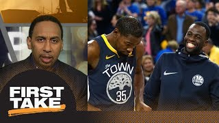 Stephen A. Smith on Warriors