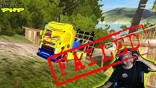 Jangan Di Tonton.!! Ini Video Truck Brewog Audio Gagal Nanjak.