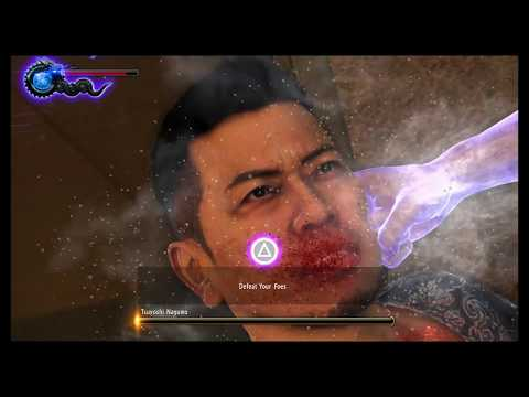 Yakuza 6: The Song of Life - Defeat Tsuyoshi Nagumo Extreme Heat Mode, Rush Combo Tutorial (2018)