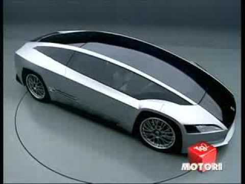 Italdesign Quaranta (Giugiaro) - TG2 Motori 2008 (full clip)