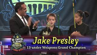 Jake Presley XMA Bo Staff Kata 2014 U S Capitol Classics Karate Tournament
