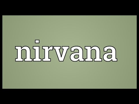 Nirvana Meaning