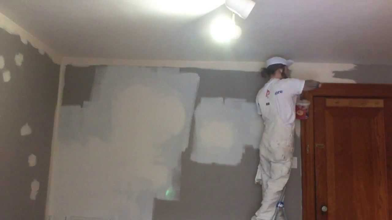 Oil Based Wall Paint Part - 25: Priming An Oil Painted Wall- Oil Or Acrylic? - YouTube