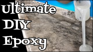 Epoxy Countertops DIY  ULTIMATE Step by Step 