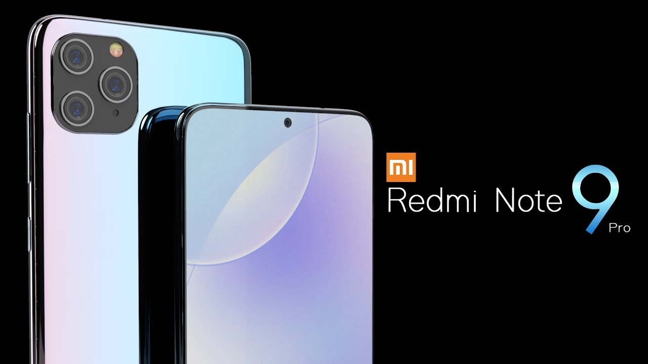 Xiaomi Redmi Note 9 Pro 2020 Trailer Concept Design Official