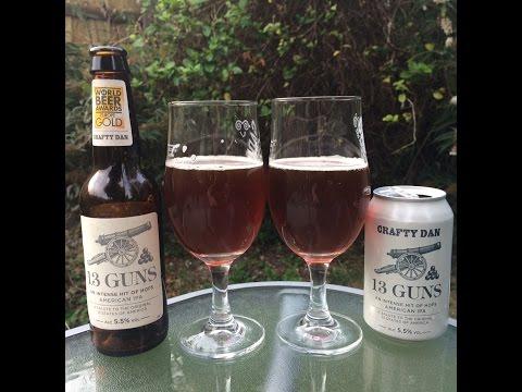 #359 Thwaites Micro Brewery | Crafty Dan 13 Guns 5.5%ABV (English Craft Beer)