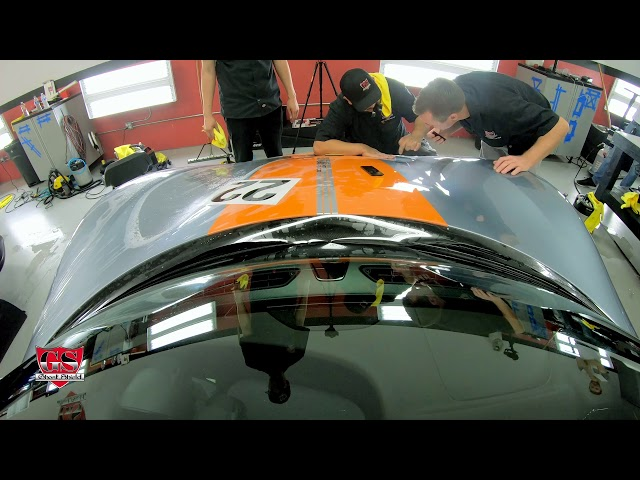 Porsche 918 Spyder E-Hybrid Timelapse HD Paint Protection Film installed by Ghost Shield Film