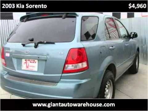 2003 kia sorento used cars fort collins co youtube. Black Bedroom Furniture Sets. Home Design Ideas