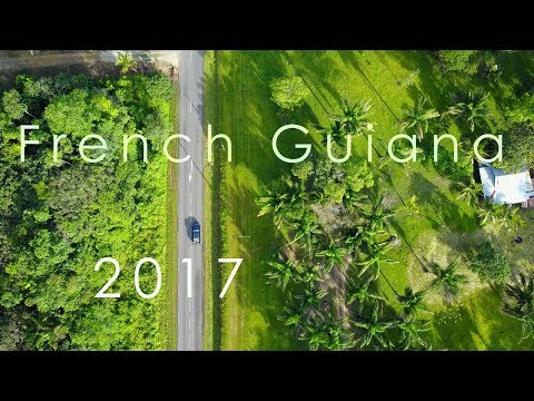 French Guiana- unforgettable **Full HD 1080p** by drone and gopro
