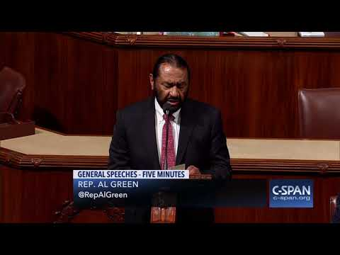 Rep Al Green: The solution can be an election in 2020 or it can be impeachment tomorrow CSPAN