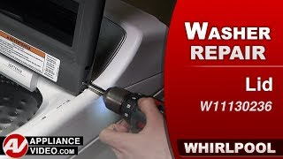Whirlpool Washer - Lid assembly replacement