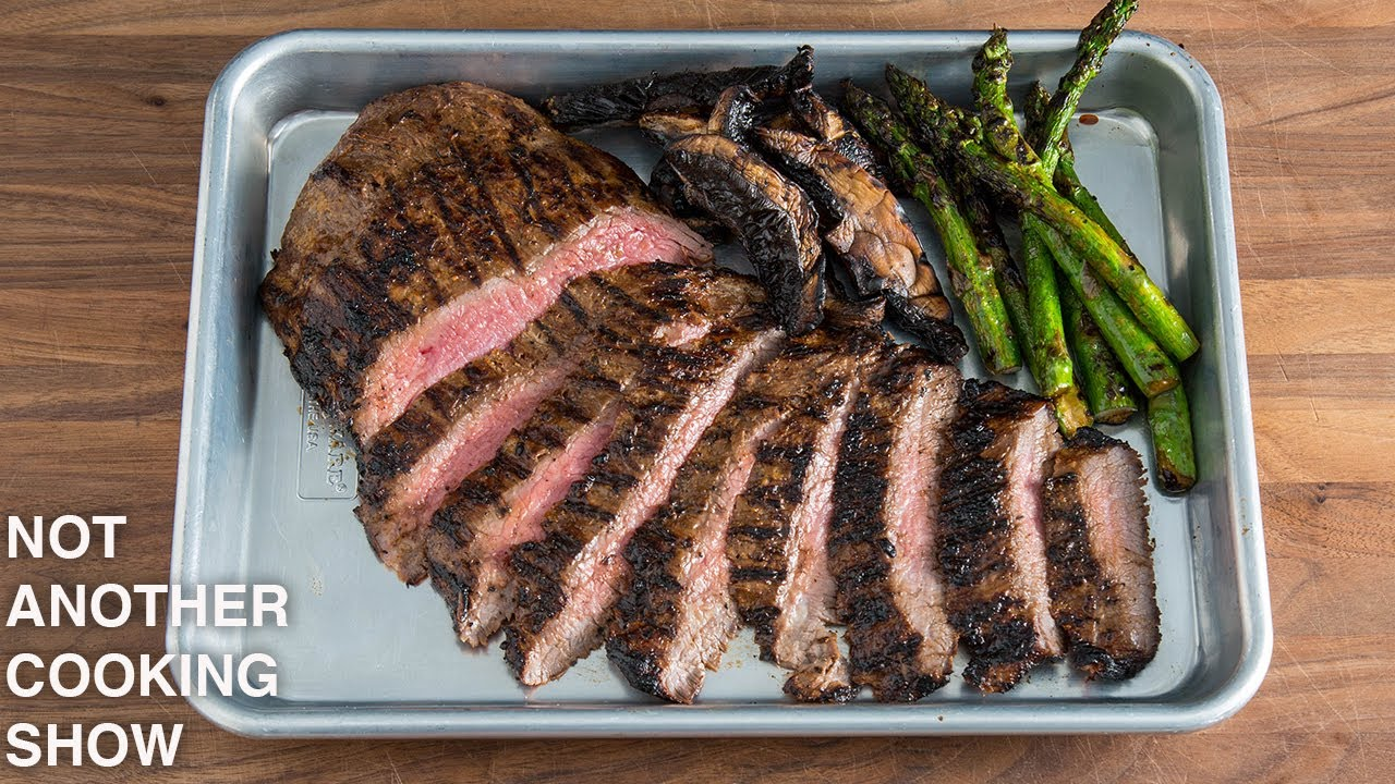 how to GRILL the PERFECT FLANK STEAK
