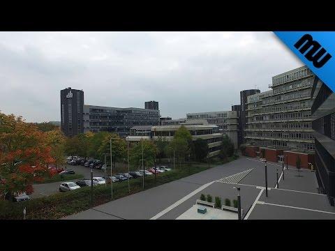 Universität Paderborn aus der Luft ● Let's fly