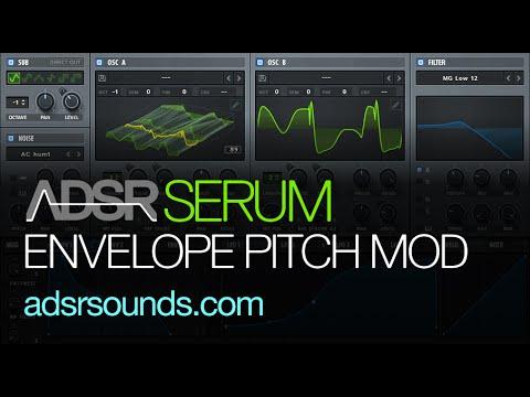 Serum Tutorial - Envelope Modulation Pitch...