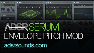 Serum Tutorial - Envelope Modulation Pitch Trick