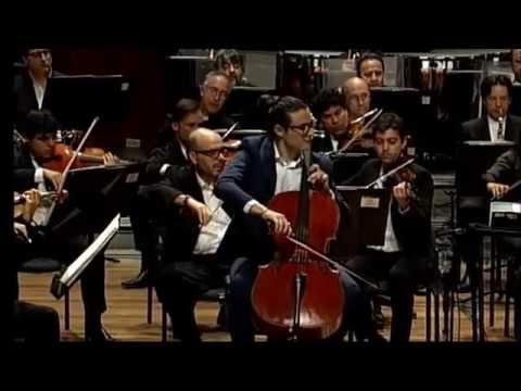 Schumann Cello Concerto LIVE: Santiago Cañón Valencia & Shlomo Mintz Conductor