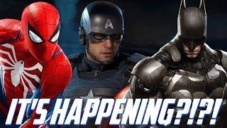 MAJOR AVENGERS, SPIDER-MAN, & BATMAN GAME NEWS & DEMO SOON?!? SUMMER GAME FEST FULL BREAKDOWN!!!