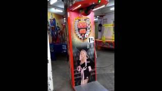 Boks makinesi eski toprak rekoru kırdı 999 :))
