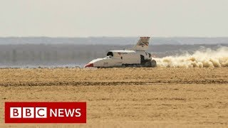 The 'Bloodhound' supercar aiming to break the land speed record - BBC News