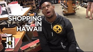 JuJu Smith-Schuster in Hawaii - Shopping, Skinny Jeans, & Sneakers | Vlog 2