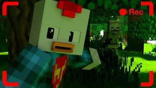 Jurassic Craft: Real Life Creepers Animated! (Minecraft Animation)
