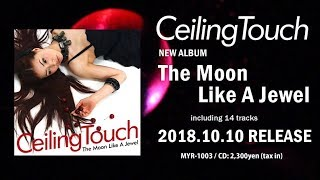 Ceiling Touch NEW ALBUM 「The Moon Like A Jewel」 2018.10.10 Release CD: 2300yen (tax in) / MYR-1003 01. Make it love 02. Star Jewel feat. 松藤量平 03.