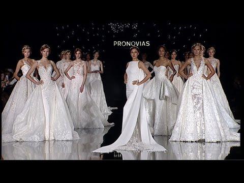 Pronovias Fashion Show 2017 Official Video http://bit.ly/2Clqkib